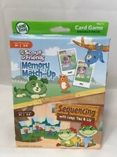 New Leap Frog Scout And Friends Memory Match Up Sequencing With Leap, Tad & Lily
