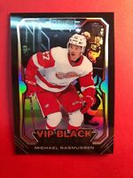 2018-19 OPC VIP Black Rookies #2 Michael Rasmussen Detroit Red Wings RC