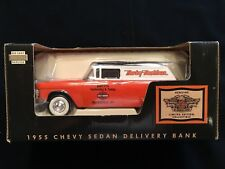 Harley Davidson Smitty's WV 1955 Chevy Sedan Delivery Bank.  Dealer Exclusive