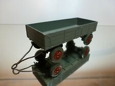 DINKY TOYS 428 LARGE TRAILER - GREY 1:50? - GOOD CONDITION