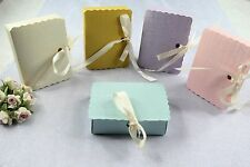 "Rectangular Book Favor Gift Box 2"",Wedding Baby Shower Party Candy Jewelry"