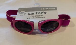 Carter's Girls Sunglasses With Adjustable Strap Pink Size: Infant/Toddler (O)