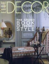 Elle Decor : The Grand Book of French Style by François Baudot and Jean Demachy
