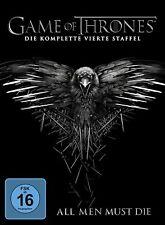Game of Thrones - Die komplette vierte Staffel [5 DVDs](NEU/OVP) 10 Episoden