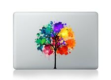 Rainbow Tree and Balloons Macbook Sticker Vinyl Decal Macbook Air/Pro/Retina 13""