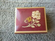 The San Francisco Music Box Co Music Box Hand Made In Italy Jewelry Box Rose
