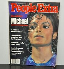 Michael Jackson on the Cover People Extra, Vol 22, No 26, Nov/Dec 1984