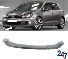 NEW VOLKSWAGEN GOLF MK6 GTI GTD 2008-2012 FRONT BUMPER LOWER SPOILER LIP ADAPTER
