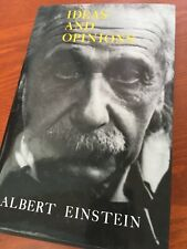 Ideas and Opinions by Albert Einstein (1988, Hardcover)