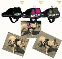 Julius K9 French Bulldog Mini or Mini/Mini Harness Dog Camouflage Pink Or Black