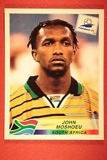 PANINI WC WM FRANCE 98 1998 185 SOUTH AFRICA MOSHOEU WITH BLACK BACK MINT!!
