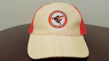 Baltimore Orioles wicker straw weave ball cap hat SGA 8-22-16  VTG Logo