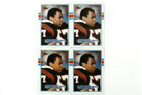 Lot of 4 - 1989 Topps #36 Reggie Williams Cincinnati Bengals Football Cards