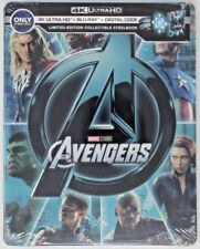 New! The Avengers Limited Edition Steelbook (4K UHD, Blu-ray) 786936860221