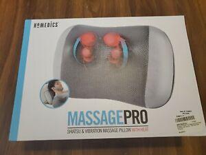 HoMedics Shiatsu & Vibration  Massage Pillow With Heat, SP-125H NEW!