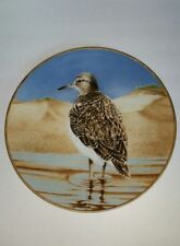 The Waterbird Plate by Danbury Mint Sandpiper by Eric Tenney