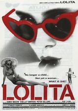 Lolita 1962 Stanley Kubrick Vladimir Nabokov Japanese Chirashi Flyer Poster B5
