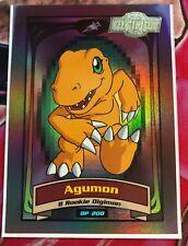 Agumon Series II Digimon Card VERY RARE ULTIMATE RARE