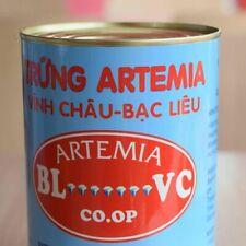 Vinh Chau Bac Lieu Artemia can 425g Hatching rate 95% HUFA 15mg/g 230 micron