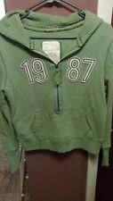 Aeropostale Women's Junior Large Lime Green Hoodie