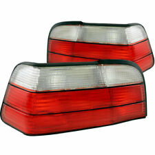 Anzo USA Euro Taillights Red/Clear for BMW 3 Series E36/M3 2-Door 1992-1998