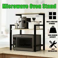 2 Tier Microwave Oven Stand Shelf Storage Rack Kitchen Furniture Holder