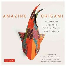 Origami Kit Traditional Japanese Folding Papers and Projects by Tuttle