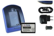 Chargeur+Batterie (USB) BP1030, BP1130 pour Samsung NX2000