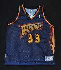 ANTAWN JAMISON Warriors Thunder NBA STARTER Authentic Jersey Blue Sewn 52 NWT
