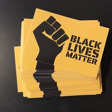 5 Black Lives Matter Vinyl Bumper Stickers Decal George Floyd Blm Stickers
