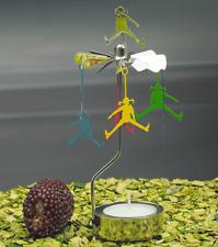 Pluto Produkter Rotierender Teelichthalter Teelicht Pippi springt Metall