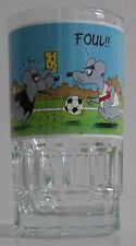 Uli Stein Bier Glas mit Henkel Bierglas Bierkrug Fussball Maus Mäuse Foul - NEU