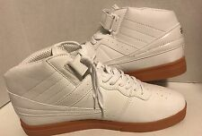 MENS FILA 1VF059LX100 F13 F-13 WHITE SNEAKERS LEATHER HIGH TOP BASKETBALL NEW