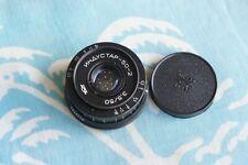 INDUSTAR-50-2 50mm f3.5 lens M42 Zenit Micro 4/3 Tessar  Pentax camera 1976