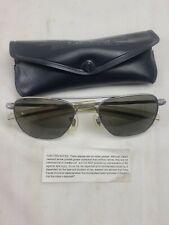 Vintage Randolph Engineering Usa Military Aviator Sunglasses