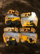 Caterpillar Cat Mini Machines  Set of 4 Dump Truck Loader Bulldozer