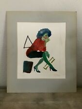 80's POP ART PAINTING MODERNISM ABSTRACT - SIGNED ORIGINAL VINTAGE