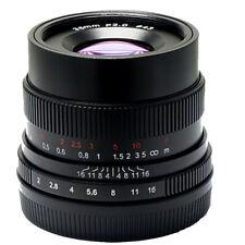 ✮ 7Artisans 35mm f/2.0 Full-Frame Wide-Angle manual lens SONY E+FE-mount 35/2