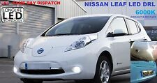 NISSAN LEAF LED DAY RUNNING LIGHTS BULBS DRL P13W 600lm!!! + SIDELIGHTS & REG