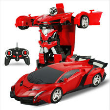 1 18 Transformers Wireless Remote Control Car Kids Toy Electric Racing Car Toy