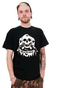 Discharge Three Skulls T-Shirt. Punk