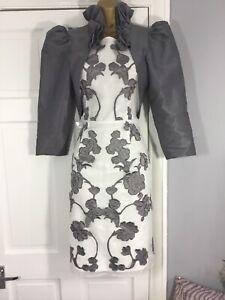 Stylish Next Dress & Jacket Mother Of The Bride - Size 14