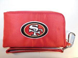 San Francisco 49ers ID Wallet Wristlet Cell Phone Case Charm 14 Purse