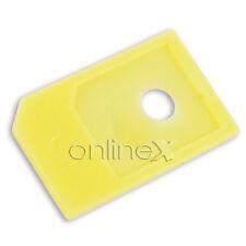Adaptador Micro Sim a Sim para Móvil Amarillo a1351