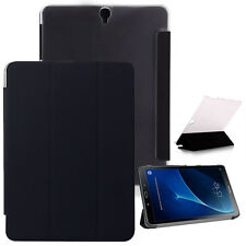 "CUSTODIA SMART COVER Integrale SUPPORTO per Samsung Galaxy TAB S3 9.7"" T820 Nera"