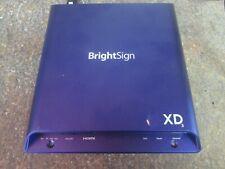 BrightSign Xd233 | 4K Advanced Html5 Standard I/O Player (Ag)