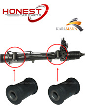 For AUDI Q7 2006> VW TOUAREG 2003-2010 POWER STEERING RACK BUSHS X2 Karlmann