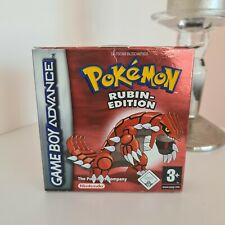 Pokémon: Rubin-Edition Verpackung ohne SPIEL (Nintendo Game Boy Advance, 2003)