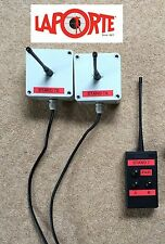 Laporte Clay Pigeon Trap Wireless Radio Pairs 2 Receivers