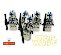 Star Wars 501st Clone Trooper Minifigures X5  Compatible Custom Storm Bundle